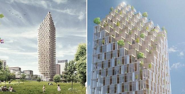 Habimat hsb stockholm il nuovo quartier generale sar for Progetta i piani domestici delle tradizioni