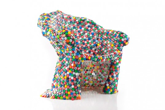 BRC-Designs-Recycled-Bottle-Tops-Capped-Out-Chair-2-537x358