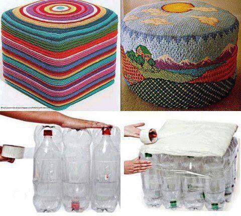 Poltrona Bottiglie Di Plastica.Habimat Home Decor La Seconda Vita Delle Bottiglie Di Plastica