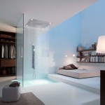 Doccia in stanza Axor Shower by Philippe Starck