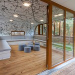 Treehouse Belgio interni