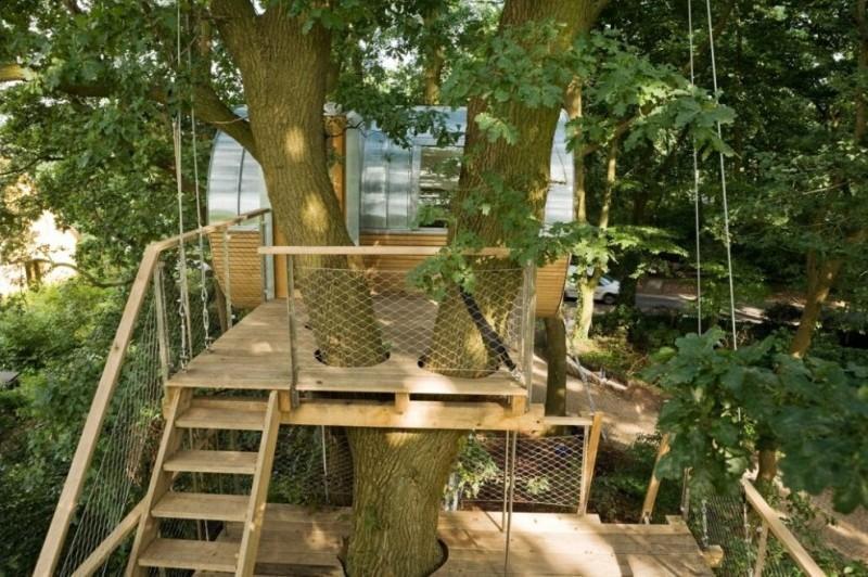 Super La case sugli alberi dello studio Baumraum NP75