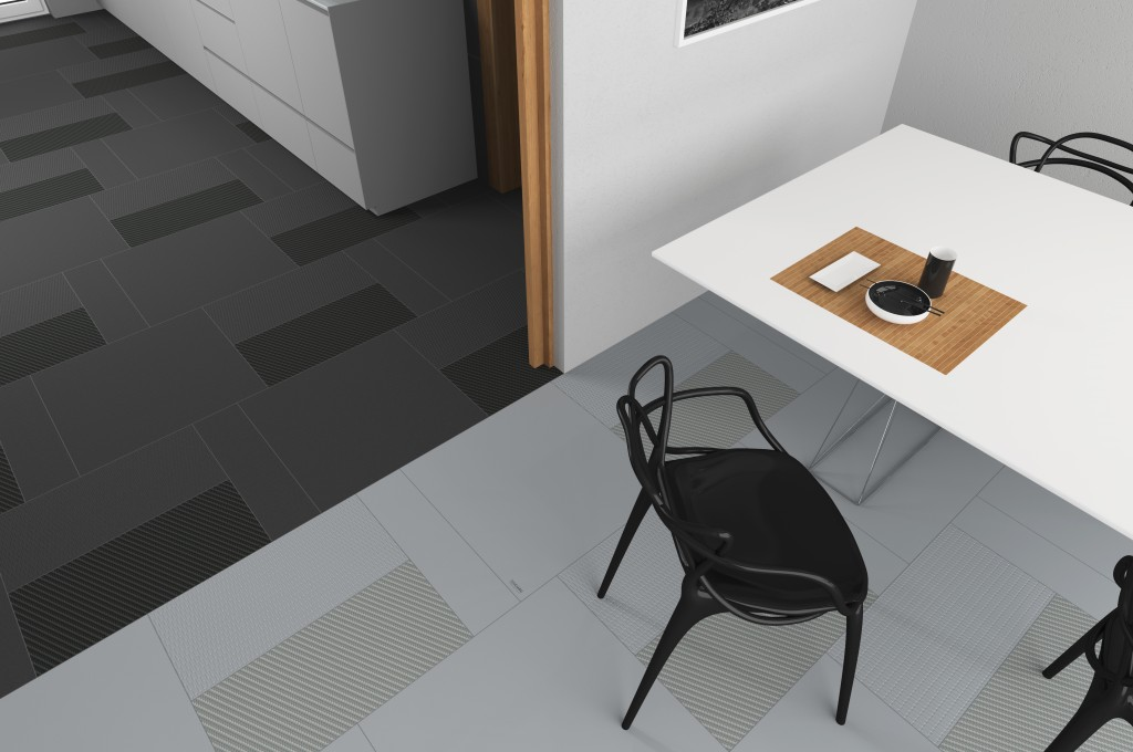GA BY GIUGIARO ARCHITETTURA Ceramica Del Conca soggiorno cucina