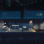 Vipp Shelter vista notte