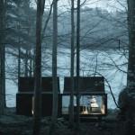 Vipp la casa Shelter nella natura