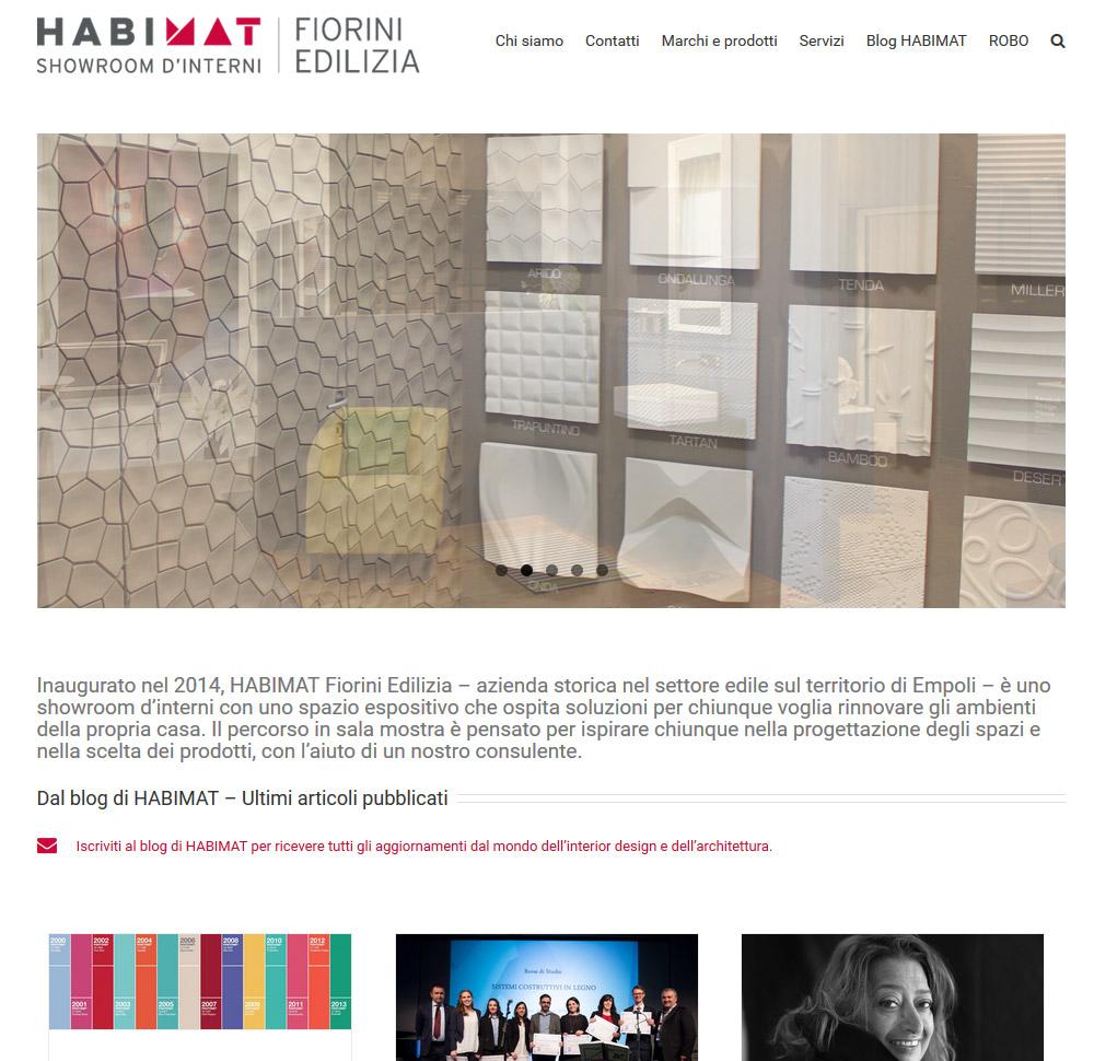 Habimat online il nuovo sito web habimat di fiorini edilizia for Sito web di progettazione di pavimenti