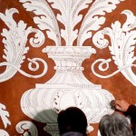 Domus Aurea Graffito in lavorazione
