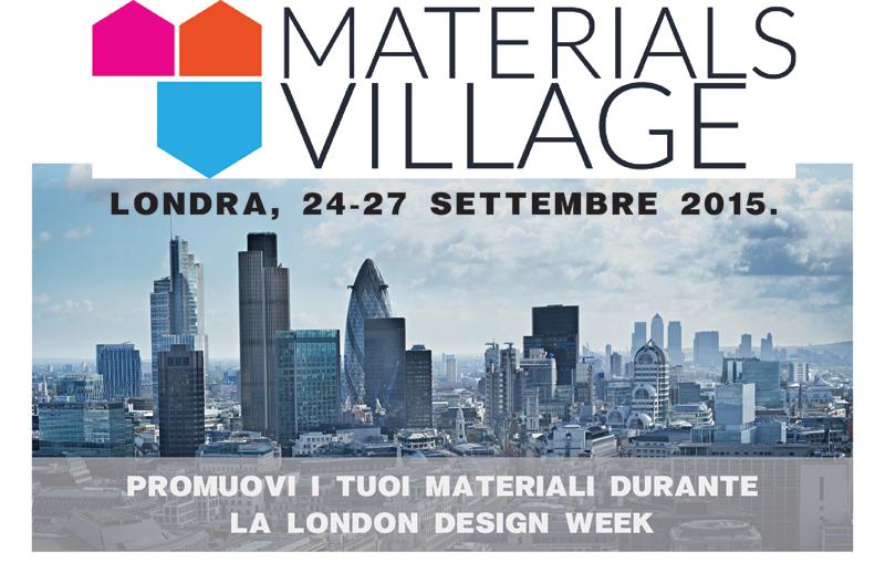 Materials Village Londra2015