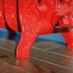 Radiatore in ghisa TIFFANY - SCIROCCO H rosso