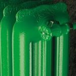 Radiatore in ghisa TIFFANY - SCIROCCO H verde