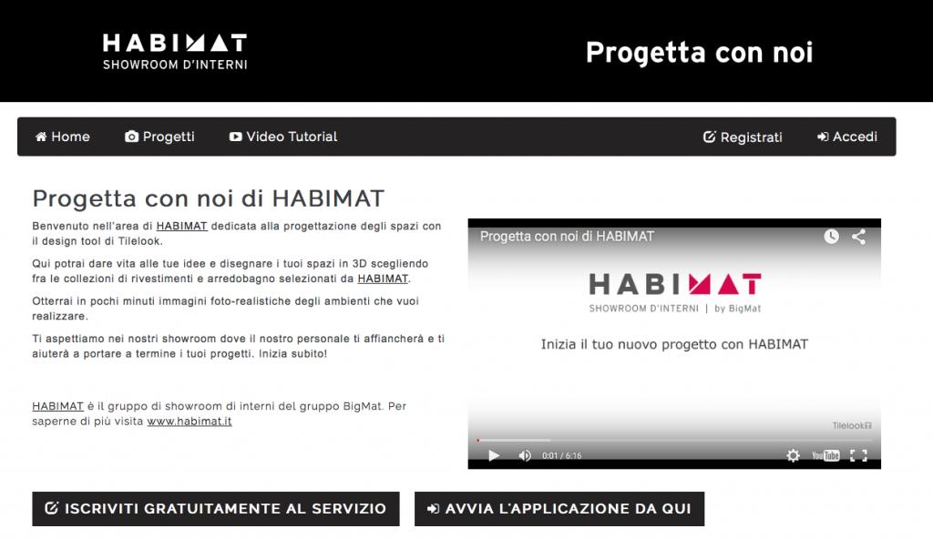 Homepage Progetta qui