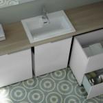 Ideagroup collezione lavanderia Spazio Time particolare cassetti