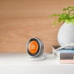 Nest, termostato smart di Google, versione d'appoggio