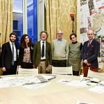 Renzo Piano e alcuni membri del gruppo G124