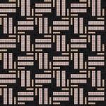 Mosaico+, collezione Africa Now, contrasto nero-rosa