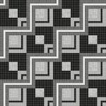 Mosaico+, collezione Africa Now, nero-grigio
