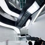 MAXXI Museum of XXI Century Art, Roma, interno, photo Iwan Baan