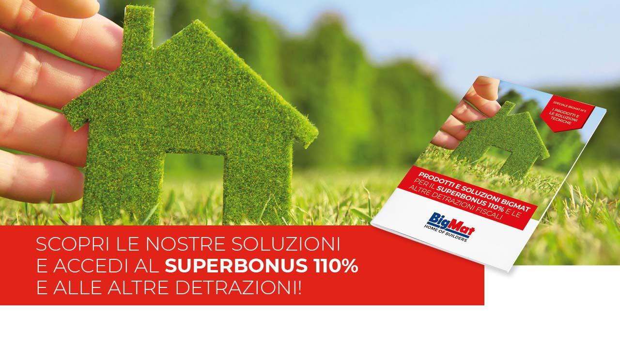 Superbonus 110% e altre detrazioni fiscali