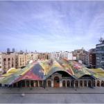 Embtarchitects, Mercato di Santa Caterina, Barcellona, foto by Roland Halbe