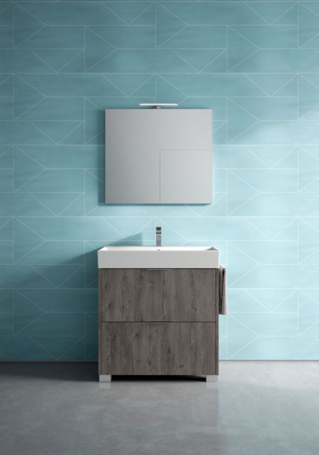 Habimat minimal funzionale e moderno il bagno basic di idea group - Quando si rompe uno specchio ...