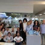 La famiglia MAPEF con alcuni titolari dei Punti Vendita BigMat, insieme al Team di Architetti HABIMAT