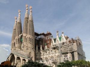 Sagrada Familia, Barcellona, foto by Bernard Gagnon
