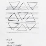 Disegno della ricetta Torta Sacher scomposta di Peter Pichler Architecture