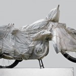 Christo Wrapped Motorcycle 1962
