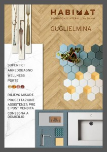 HABIMAT GUGLIELMINA Flyer Showroom fronte