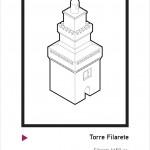 Disegno Torre Filarete