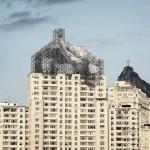 JR, Installazione Rio de Janeiro, credit foto www.jr-art.net