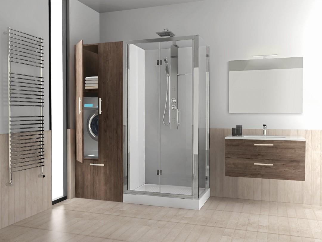 Habimat revolution di novellini dalla vecchia vasca a un nuovo spazio funzionale - Come sostituire una vasca da bagno ...