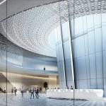 Edificio tecnico sottostante alla Torre di controllo aeroporto Istanbul, © Pininfarina – AECOM