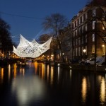 """Lace"", Choi + Shine Architects, foto Amsterdam Light Festival"