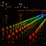 """Flower strip"", Aether & Hemeta, foto Amsterdam Light Festival"