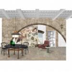 Interni di Casa Greco, Civita di Bagnoregio (Viterbo)