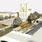 """Il masterplan """"Mission Île de la Cité"""",  Dominique Perrault - Philippe Bélaval, © Dominique Perrault Architecture / ADAGP"""