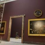 Lavori di rinnovo delle sale della Pinacoteca di Brera con i colori Oikos