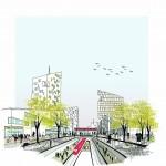 La visione progettuale elaborata dal team Mecanoo Mecanoo, guidato Francine Houben  per Scalo Farini