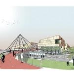 La visione progettuale elaborata dal team Mecanoo Mecanoo, guidato Francine Houben  per lo scalo di Greco Pirelli