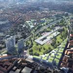 La visione progettuale elaborata dall'architetto di Pechino Ma Yansong di Mad Architects  per Scalo Farini