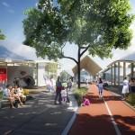 La visione progettuale elaborata dall'architetto di Pechino Ma Yansong di Mad Architects  per lo scalo di Porta Genova