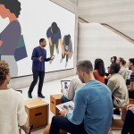 Render nuovo Apple Store di Milano, © Foster + Partners