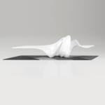 Tavolo Le-a, Zaha Hadid design per Leblon Delienne