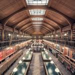 Biblioteca dell'albergo di Parigi, Parigi, 1890 © Thibaud Poirier
