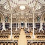 Biblioteca nazionale di Francia, sala Labrouste, Parigi, 1868