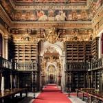 Biblioteca Joanina, Coimbra, 1728 © Thibaud Poirier