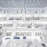 Stadtbibliothek, Stoccarda, 2011 © Thibaud Poirier