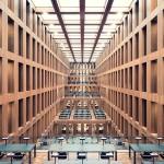 Grimm-Zentrum library, Berlino, 2009 © Thibaud Poirier