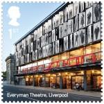 Everyman Theatre / Haworth Tompkins, courtesy Royal Mail